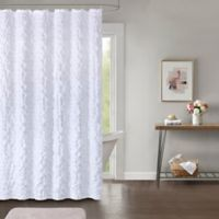 Easton 72-Inch x 96-Inch Shower Curtain in White