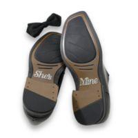 "Lillian Rose™ ""She's Mine"" Wedding Shoe Stickers"
