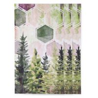 Hexagon Tree 15-Count Paper Guest Towels