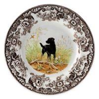 Spode® Woodland Black Labrador Retriever Salad Plate
