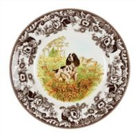 Spode® Woodland English Springer Spaniel Salad Plate