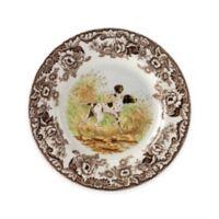 Spode® Woodland Flat Coated Pointer Salad Plate