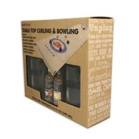 Bar Plus+ Tabletop Curling and Bowling Set