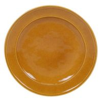 Certified International Orbit Dinner Plates in Harvest Gold (Set of 6)