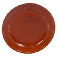 Certified International Orbit Dinner Plates in Pumpkin (Set of 6)