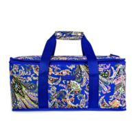 Vera Bradley Paisley Casserole Carrier Cooler Bag in Purple