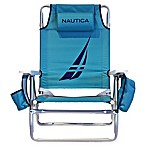 Nautica® 5-Position Beach Chair in Racer Teal