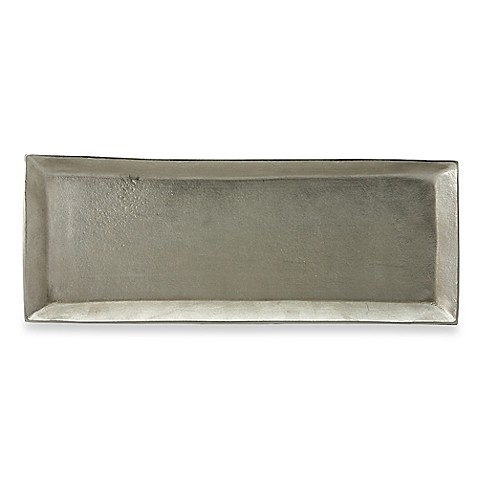 Donna Karan Lenox® Burnished Metal Medium Rectangular Server