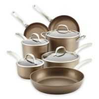 Circulon® Ultimum™ Forged Aluminum Nonstick 11-Piece Cookware Set in Nutmeg