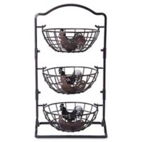 Gourmet Basics By Mikasa® Pantryware Carbon Steel Basket in Antique Black