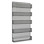 5-Tier Wire Spice Rack Organizer in Silver