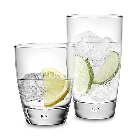 Perspex Drinking Glasses