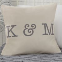 Personalized Write Your Own Romantic 18-Inch Throw Pillow
