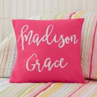 Personalized Write Your Own Kids Expressions 14-Inch Throw Pillow