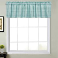 Sophia Window Valance in Mineral Blue