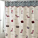 Avanti Flirty 72-Inch x 72-Inch Fabric Shower Curtain