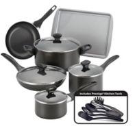 Farberware® Nonstick Aluminum 15-Piece Cookware Set in Black