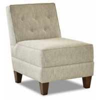 Klaussner® Polyester Upholstered Tate Chair in Twilight