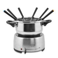 Nostalgia™ Electrics Stainless Steel Electric Fondue Pot