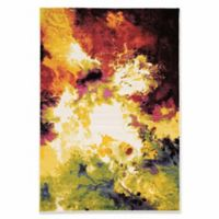 Linon Home Weho Volcano 8' x 10'3 Area Rug in Ivory