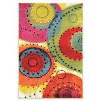 Linon Home Masters Weho Tango Multicolor 5' x 7'6 Area Rug