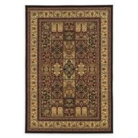 Linon Home Empress Baktiyari 8' x 10' Area Rug in Red