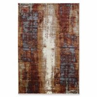 Linon Home Techtonics Canyon 5' x 8' Area Rug in Beige