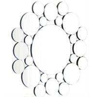 Abbyson Living® Megan 31.5-Inch Round Wall Mirror in Silver