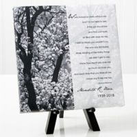 Personalized In Memory 8-Inch x 8-Inch Table Canvas Print