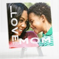 Personalized Loving Her 8-Inch x 8-Inch Tabletop Canvas Print