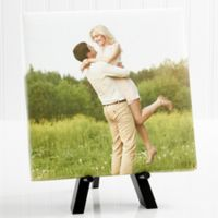 Personalized Sweet Couple Mini 8-Inch x 8-Inch Photo Canvas Print