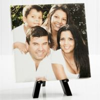 Personalized Our Family Mini 8-Inch x 8-Inch Photo Canvas