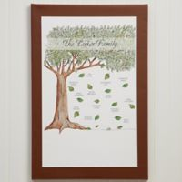 Personalized Family Tree 20-Inch x 30-Inch Canvas