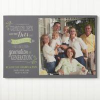 Personalized Our Grandchildren 20-Inch x 30-Inch Canvas