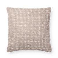 Magnolia Home Cordelia Square Throw Pillow in Grey