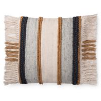 Magnolia Home Bishop Square Throw Pillow in Gold