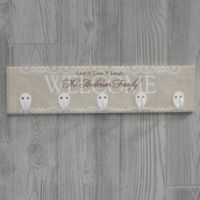 Personalized Welcome Key Plaque