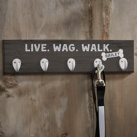 Personalized Farmhouse Style Leash Hook