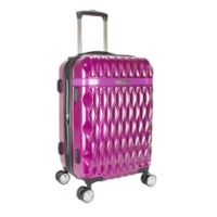 Kathy Ireland® Kelly 22-Inch Hardside Spinner Carry On Luggage in Purple
