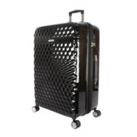 Kathy Ireland® Audrey 29-Inch Hardside Spinner Checked Luggage in Black