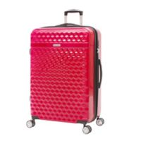 Kathy Ireland® Audrey 29-Inch Hardside Spinner Checked Luggage in Red