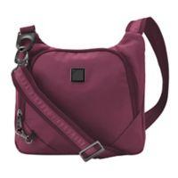 Lewis N. Clark® Secura Slim Anti-Theft Crossbody Bag in Plum