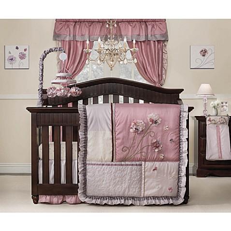 Kidsline Fleur 4 Piece Crib Bedding Set Buybuy BABY