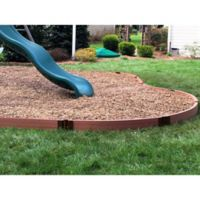 Frame It All Curved 2-Inch x 16-Foot Playground Border Kit