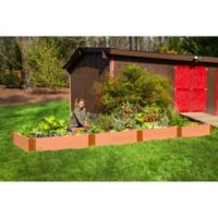Frame It All 4-Foot x 16-Foot Raised Garden Bed