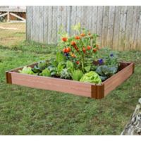 Frame It All 48-Foot x 48-Foot Raised Garden Bed
