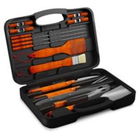 Home-Complete 18-Piece BBQ Grill Tool Set