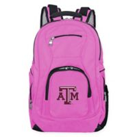 Texas A&M University Laptop Backpack in Pink