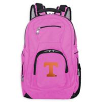 University of Tennessee Laptop Backpack in Pink