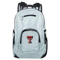 Texas Tech University Laptop Backpack in Grey